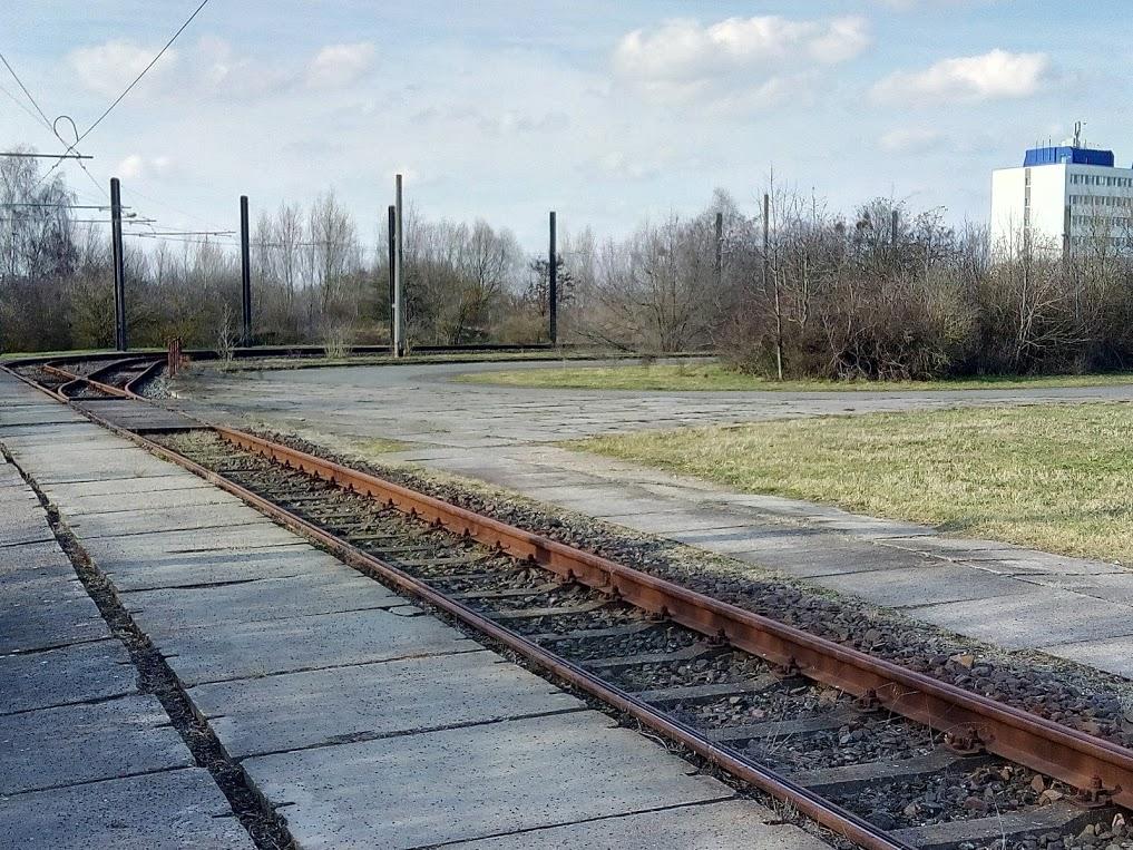 Frühestens ab 2019 vielleicht wieder nutzbar: die alte Wendeschleife in Rothensee