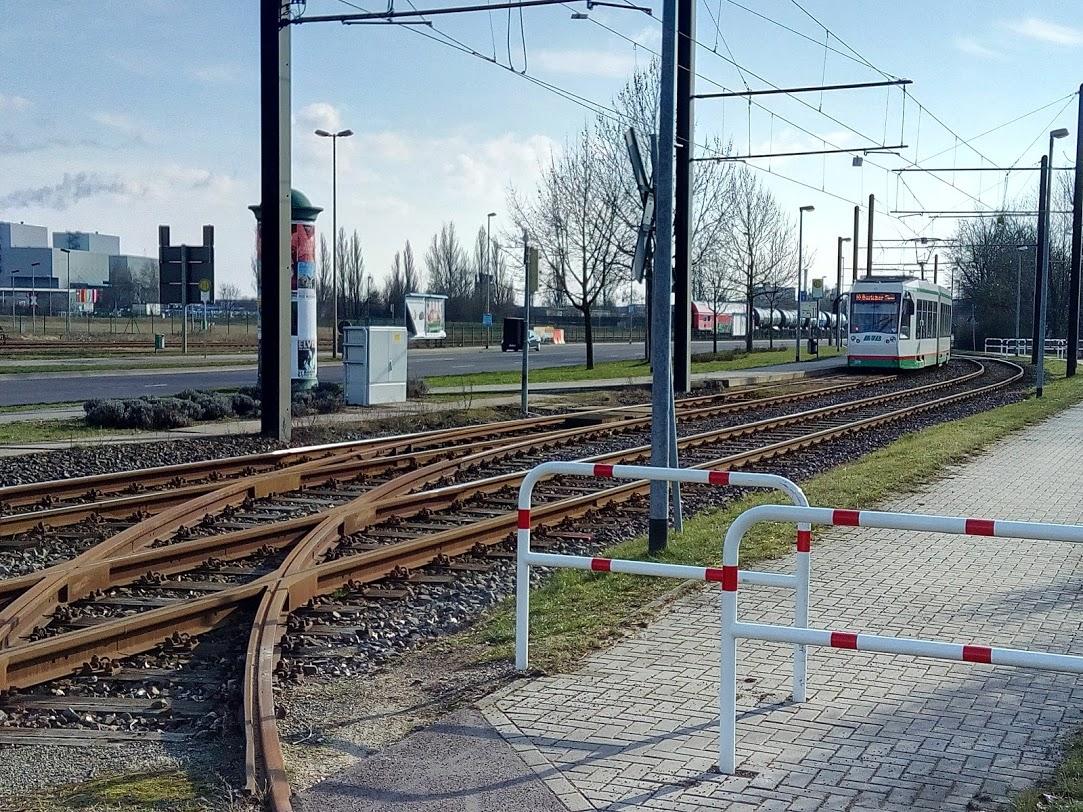 Strassenbahn in Rothensee