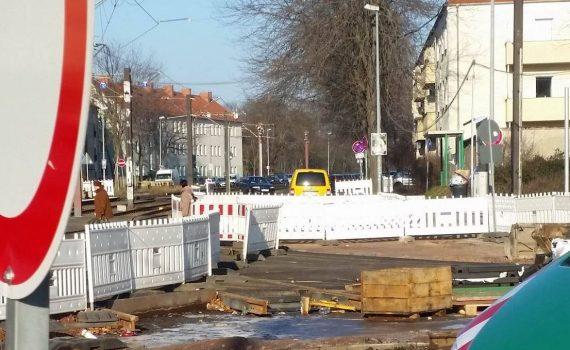 Foto Baustelle am Südring