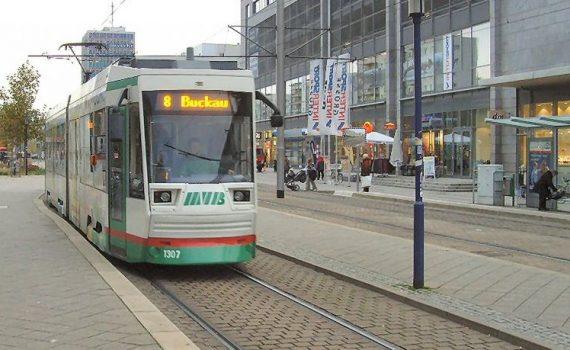Foto Straßenbahnlinie 8