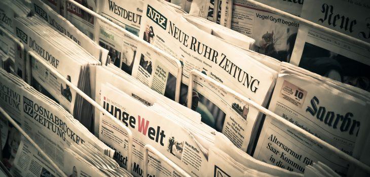 Symbolbild Medien und Pressemitteilungen