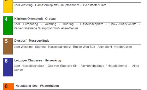 Fahrplanänderung und neue Linienführung gelten ab 1. April 2017