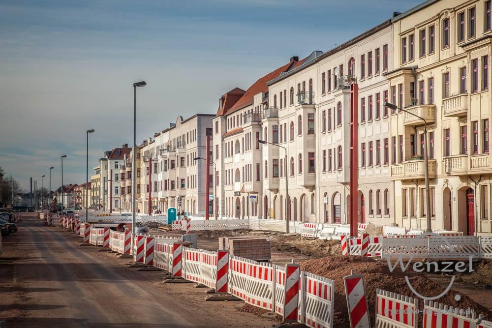 Kahlschlag in der Raiffeisenstraße